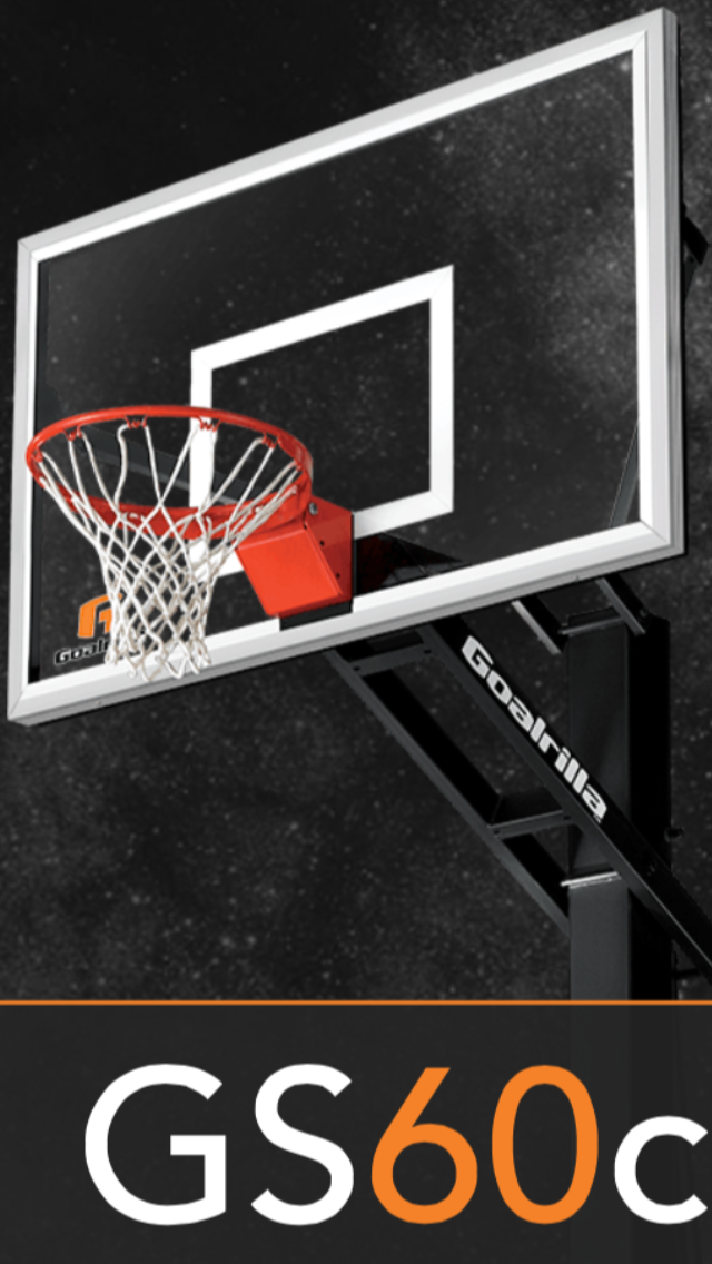 GS60C Goalrilla Basketball Hoops